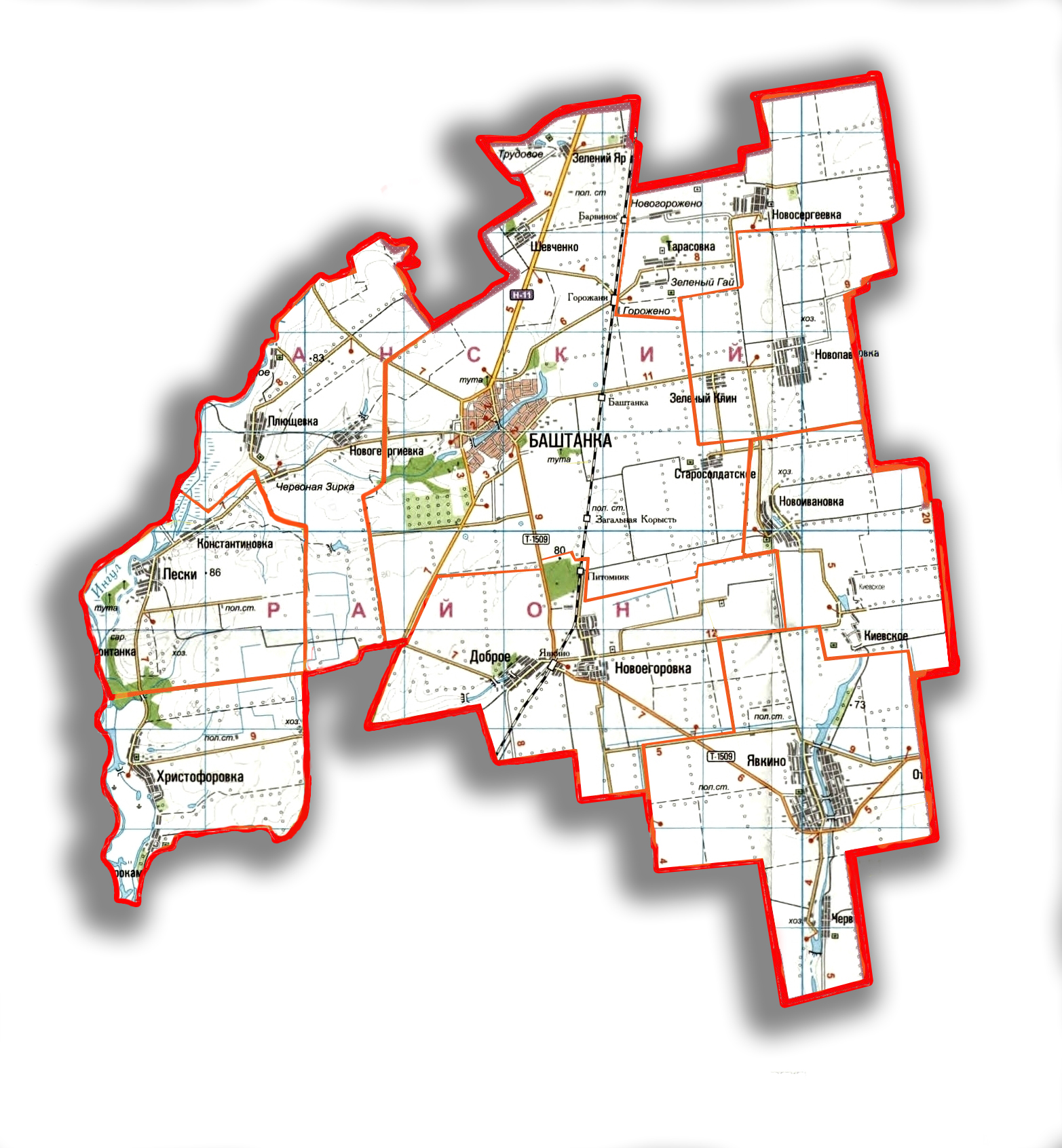 Баштанська міська об'єднана територіальна громада